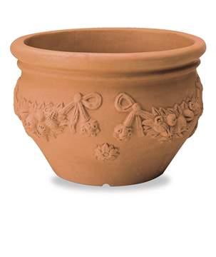 Picture of Cache Pot Festonato in resina