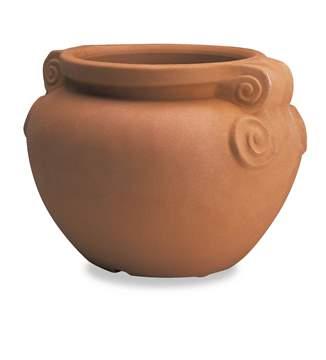 Picture of Cache Pot Liscio con manici in resina