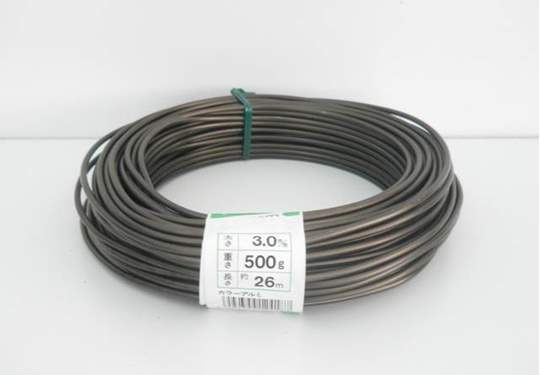 Picture of Bonsai aluminum wire mm. 3 - 500 gr.