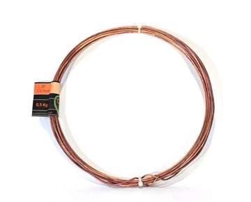 Picture of Bonsai copper wire diam. 2.5 mm - skein 500 gr