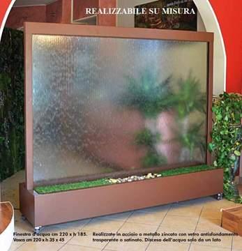 Immagine di Finestra d'acqua in vetro - misura grande