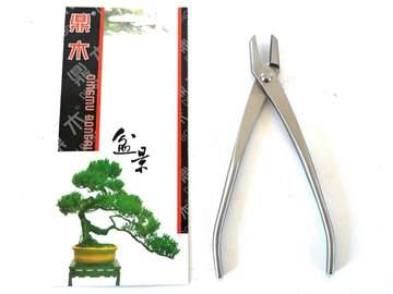Immagine di Pinza bonsai per filo in acciaio satinato mm. 210