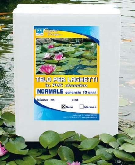 Immagine di Telo per laghetto Nero mt. 4 x 5