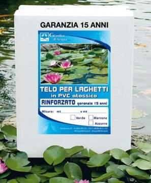 Picture of Telo per laghetto rinforzato - TAGLIO SU MISURA