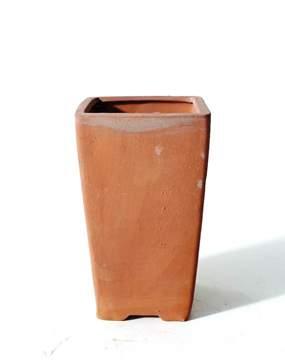 Immagine di Vaso bonsai in gres quadrato cm. 11