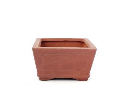 Immagine di Vaso bonsai mini quadrato in gres cm. 11