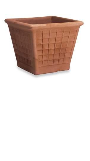 Immagine di Vaso con Riquadri in resina cm. 45