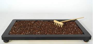 Picture of Volcanic lapilli grain 3/5 mm. bonsai soil - bag 5 litres
