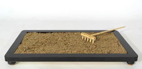 Picture of River sand grain 0/3 mm. bonsai soil - bag 5 litres