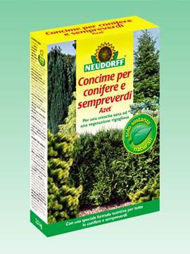 Picture of Concime AZET per CONIFERE e SEMPREVERDI 1 kg.