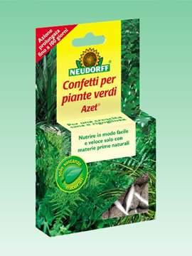 Picture of Concime AZET in CONFETTI per PIANTE VERDI 40 pz.