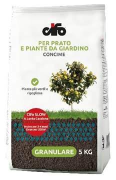 Picture of Concime a lenta cessione CIFO SLOW 5 kg. per piante e prati