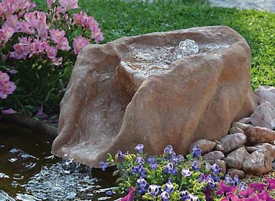 Picture of Roccia artificiale con sorgente Enego