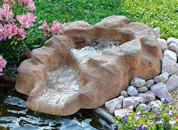 Picture of Roccia artificiale con sorgente Frejus