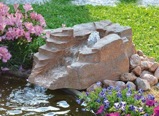 Picture of Roccia artificiale con sorgente Gemini