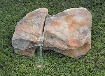 Immagine di Roccia artificiale con sorgente Montegrotto