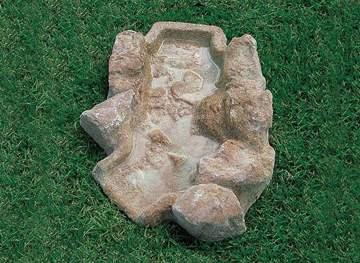 Picture of Ruscello artificiale con curva a destra