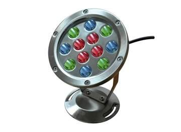 Picture of Faretto Magica Luce a LED COLORATI in acciaio