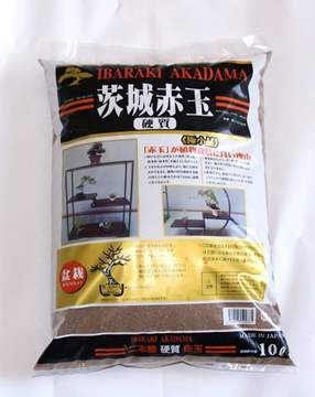 "Picture of Akadama ""Hard Quality"" grain 0/2 mm. - bag 10 lt"