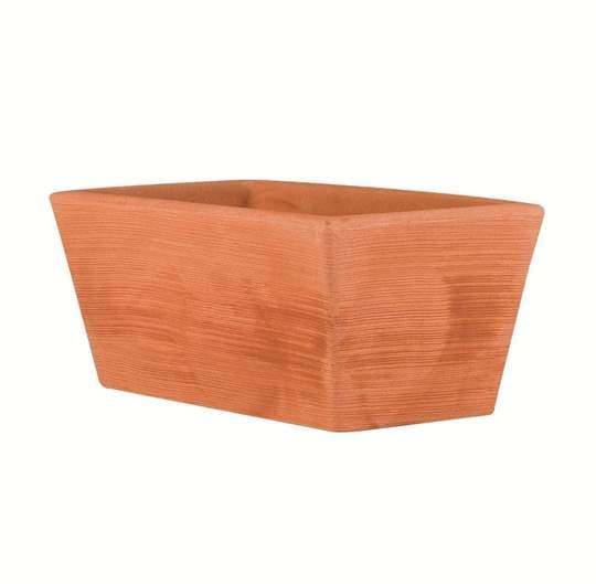"""Immagine di Vaso fioriera in resina """"Girasole"""" 100 cm."""