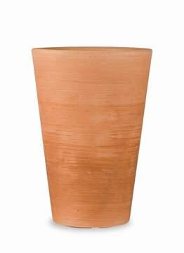 """Immagine di Vaso tondo in resina """"Lilium"""" 75 cm."""