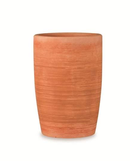 """Immagine di Vaso tondo in resina """"Orchidea"""" 75 cm."""