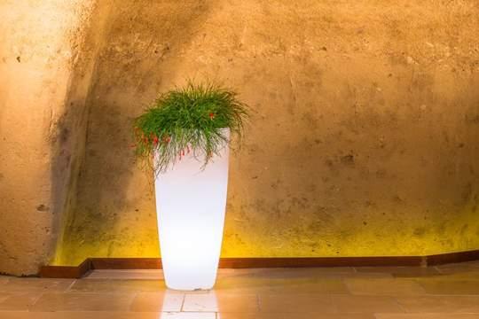 Immagine di Vaso Luminoso Stilo Round cm. 90