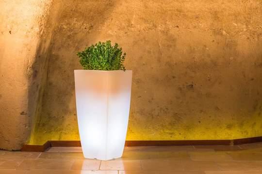 Immagine di Vaso Luminoso Stilo Square cm. 90