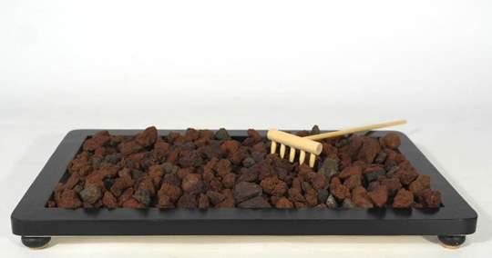 Picture of Volcanic lapilli grain 10/14 mm. bonsai soil - bag 10 litres