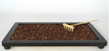 Picture of Volcanic lapilli grain 3/5 mm. bonsai soil - bag 10 litres