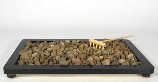Picture of Pumice grain 7/12 mm. bonsai soil - bag 10 litres