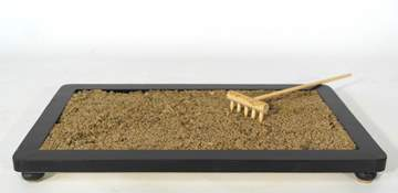 Picture of River sand grain 0/3 mm. bonsai soil - bag 10 litres