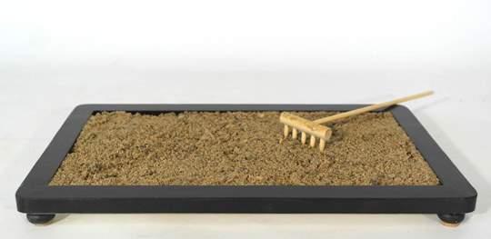 Picture of River sand grain 0/3 mm. bonsai soil - bag 10 litres