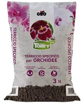 Immagine di Terriccio BIO per Orchidee, piante epifite e semiepifite da 3 lt.