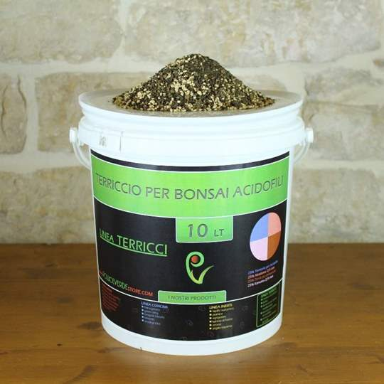 Picture of Terriccio pronto per bonsai di acidofile - busta 10 lt.