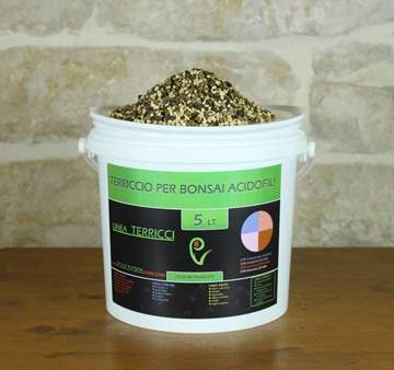 Picture of Terriccio pronto per bonsai di acidofile - busta 5 lt.