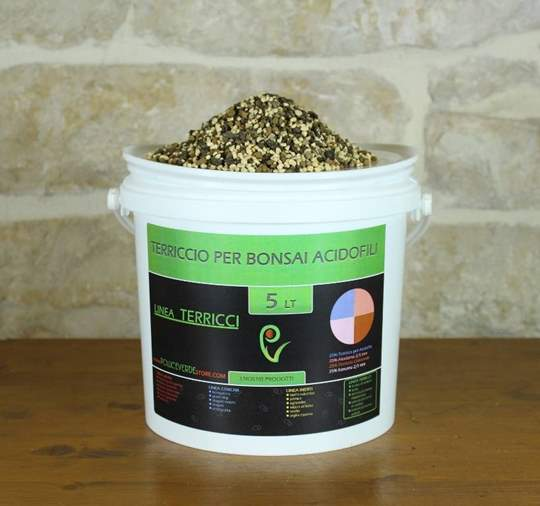 Immagine di Terriccio pronto per bonsai di acidofile - busta 5 lt.