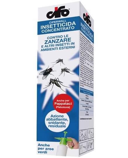 Immagine di Insetticida zanzare e altri insetti per esterni Ciperwall 250 ml.