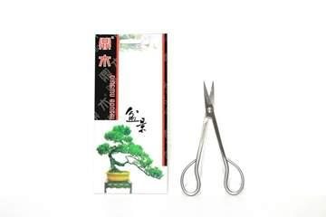 Picture of Forbice bonsai per rametti in acciaio satinato mm. 180