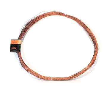 Picture of Bonsai copper wire diam. 0.8 mm - skein 1 kg