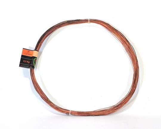 Picture of Bonsai copper wire diam. 1.2 mm - skein 1 Kg