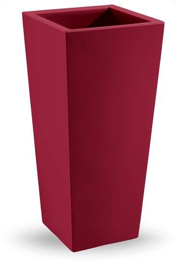 """Picture of Cache pot quadrato in resina """"Genesis"""" h. 85 cm."""