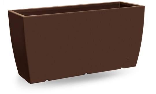 """Immagine di Cassetta rettangolare in resina """"Genesis"""" 100 cm."""