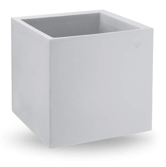 "Picture of Vaso cubo in resina ""Cosmos"" 35 cm."