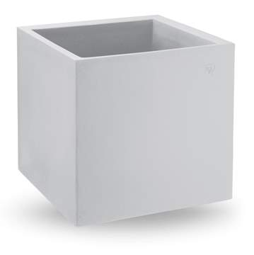 "Picture of Vaso cubo in resina ""Cosmos"" 55 cm."