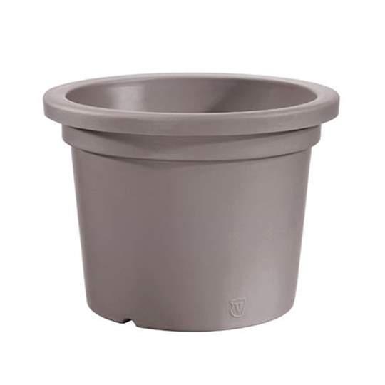 """Immagine di Vaso rotondo in resina """"Cilindro"""" 40 cm."""