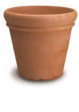 Picture of Vaso resina Doppio Bordo Liscio cm. 100