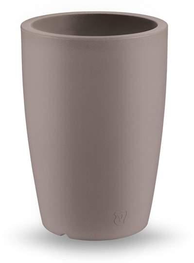 "Immagine di Vaso rotondo in resina ""Genesis"" h. 60 cm."