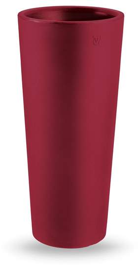 "Picture of Cache pot rotondo in resina ""Genesis"" h. 85 cm."