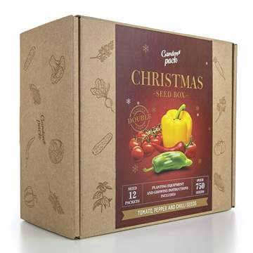 kit semi christmas pomodoro peperone peperoncino coltivazione